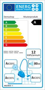 EU-Energielabel Ipilum Shopsoftware