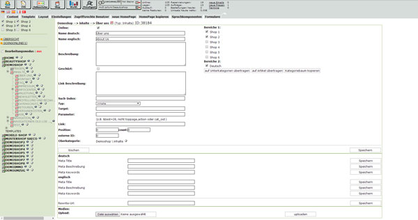 Warenwirtschaft Shopsoftware CMS-System